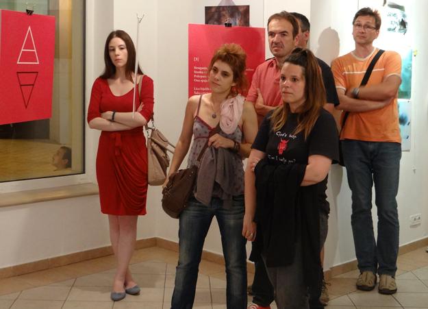 Galerija Decumanus, Mediologija - otvorenje