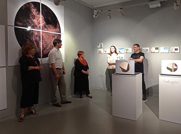 U kontrapunktu: Preklapanja, otvorenje - Galerija Decumanus