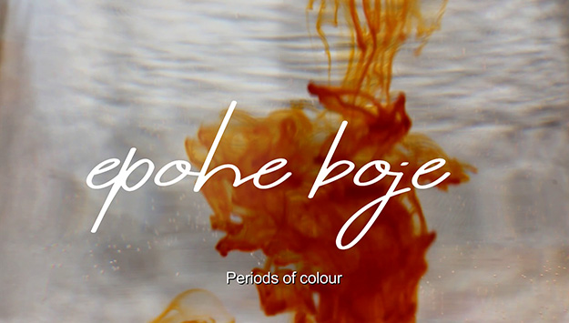 Roberta Bajčić: Epohe boje, segment videa (u suradnji s Miriam Volarić)