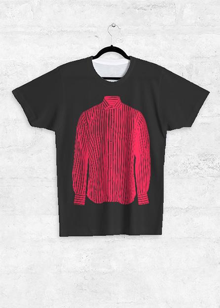 UNISEX TEE - FRONT PRINT ARTWORK: Shirt