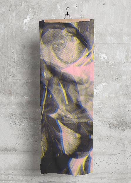 MODAL SCARF ARTWORK: Eye